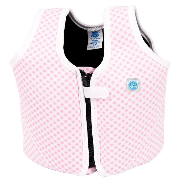 Float Jacket Pink Gingham
