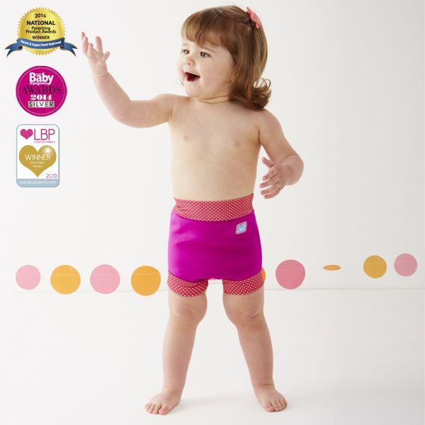 Happy Nappy Pink Mango Dots