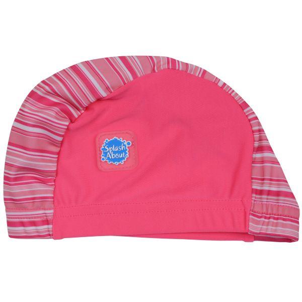 Swim Hat Pink Candy 18 months +