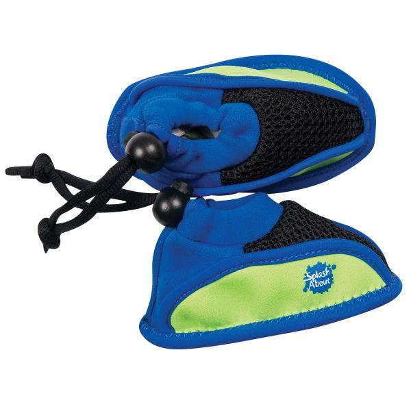 lime blue splash shoes