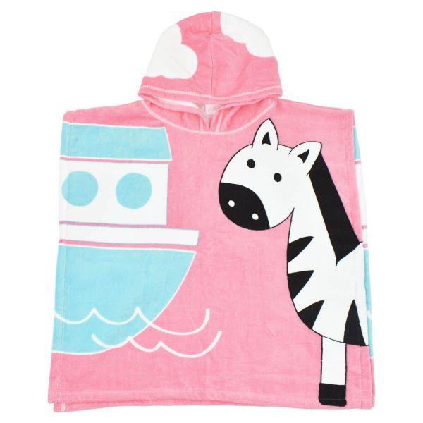 Kids Hooded Poncho Towel Nina's Ark