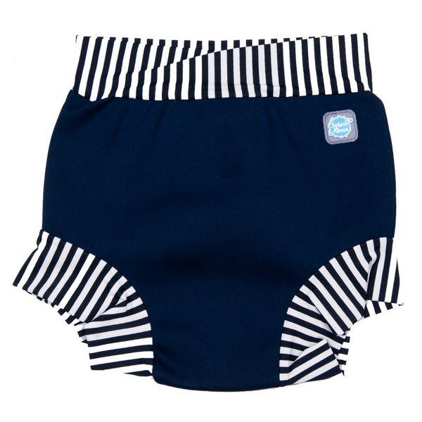 Splash Shorts Navy Stripe