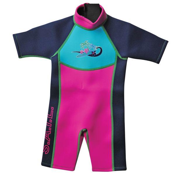 Shortie Wetsuit Surf Pink