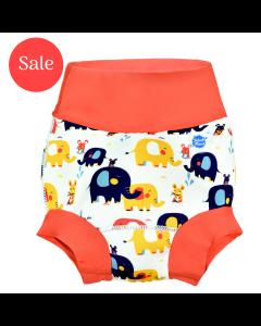 New Happy Nappy™ Little Elephants X Large 12-24 Months