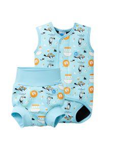 Happy Nappy and Baby Wrap Noah's Ark Bundle